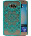 Samsung Galaxy S6 - Roma Hardcase Hoesje Turquoise