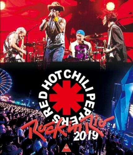 RED HOT CHILI PEPPERS / Rock In Rio 2019 October Brazil (1BDR) Blu-ray Disk w/Tr