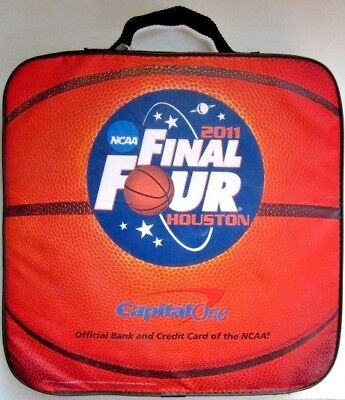 2011 Ncaa Final Four Houston Seat Cushion Capital One Bank Advertising Huskies
