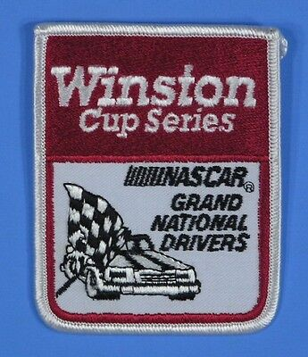* Winston Cup Series NASCAR Grand National Drivers Embroidered Racing Patch -