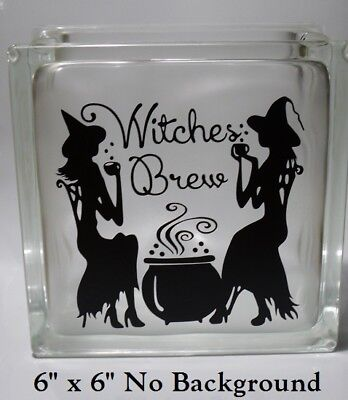 Witches Brew / Be Witch Halloween Decal sticker for 8