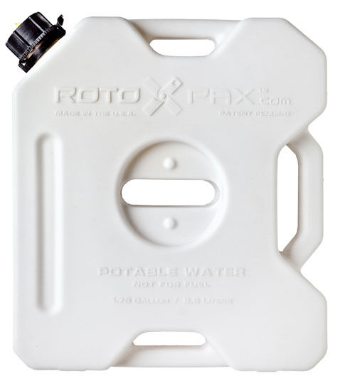 Rotopax 1.75 Gallon Water Pack, Off Road Outdoor Spare Water Container