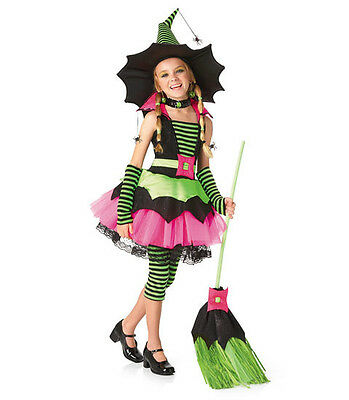 Spiderina Witch TWEEN Girls Costume Princess Paradise Chasing Fireflies 12 14 16 - Spiderina Witch Costume