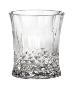 Acrylic Clear Plastic Cups Drinking Glasses 12 oz. Tumblers Set 6