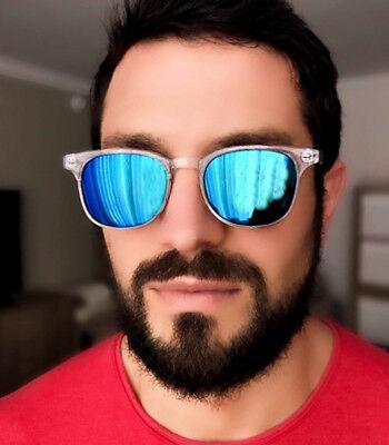Retro Square Rectangular Keyhole WaYF Hipster Preppy Fashion Men Sunglasses (Preppy Sunglasses Men)