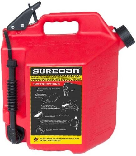 New brand- Surecan 5 Gallon Gas Can-Free shipping