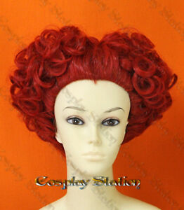 alice red queen wig childrens healthcare