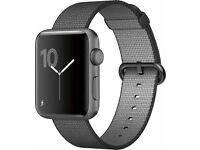 Apple Watch Sport 42mm Grey with Woven Nylon Strap