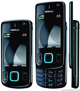 NEW NOKIA 6600 SLIDE 3G 3MP LED FLASH BLACK CELL PHONE