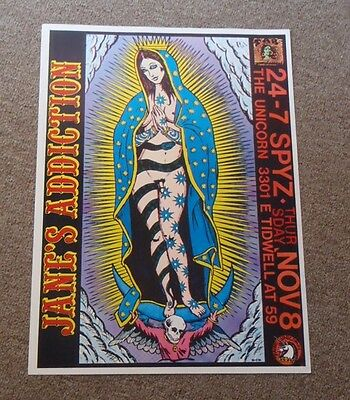 "Janes Addiction 1990 Tour Poster 13"" x 19"" Ritual de lo habitual Perry Farrell"