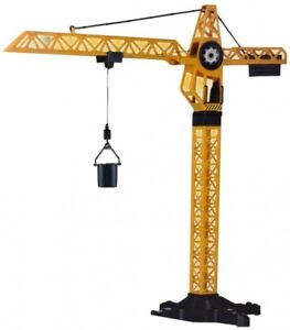 KIDS CONSTRUCTION CRANE BUILDING OBJECTS BUILDER WORK TOWER VEHICLE TOY