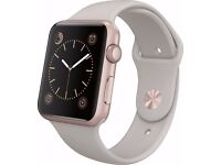 Apple Watch Sport 42mm Rose Gold *As New* Warranty expires 14 July 2017