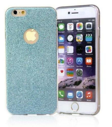 iPhone 5-5S-5SE Bling Luxury Siliconen hoesje - blauw