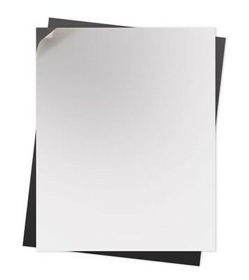 200 15 Mil. Self Adhesive Flexible Magnetic Sheets  8.5 X 11 Inches