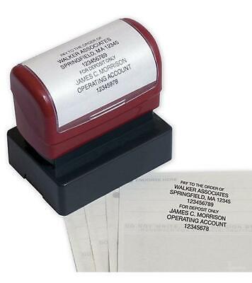 Endorsement Stamp - Pre-inked Item D2023