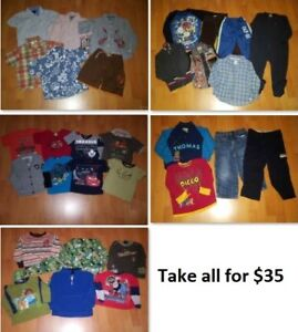 3T Boys Clothing Lot 3 (Take 31 Pieces for $35)