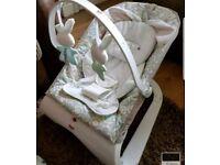 Fisher price bunny unisex bouncer