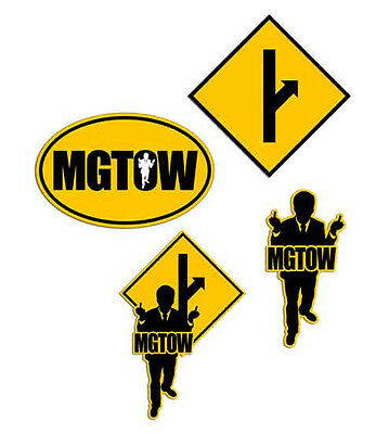 Mgtow Sticker Men Going Their Own Way Mens Rights Political Decals