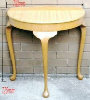 semicircle side table for sale