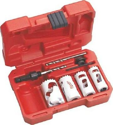 Milwaukee 49-22-4088 Electricians 7 Pc Bi-metal Hole Saw Kit - In Stock