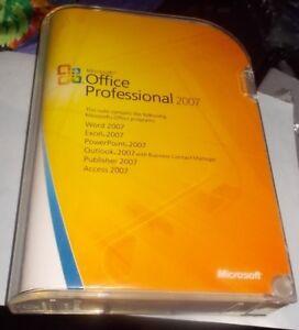 logiciels authentiques : MS Office 2007, Linux, Windows xp etc.