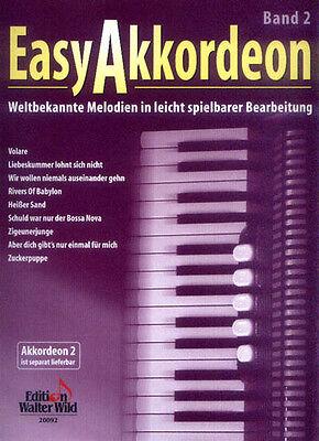 Easy Akkordeon Band 2 (1. Stimme) Noten leicht bis mittel