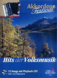 Akkordeon Festival - Hits der Volksmusik Play-Along Noten CD