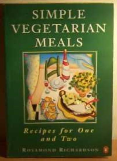 Simple Vegetarian Meals (Penguin cookery library) By Rosamond Richardson-Gerson