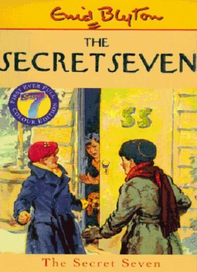 The Secret Seven By Enid Blyton, George Brook