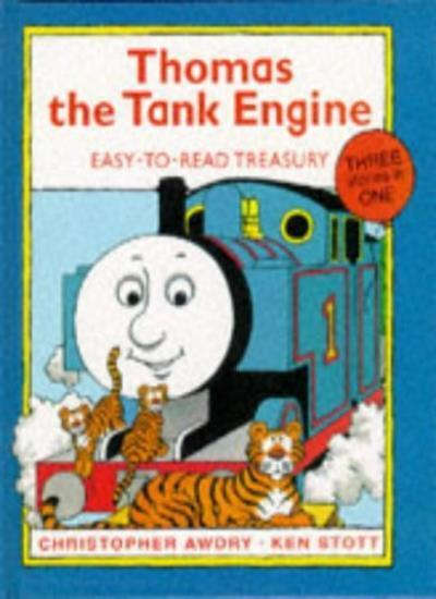 Thomas Easy-to-read Treasury: v. 1 (Thomas the Tank Engine),Christopher Awdry,