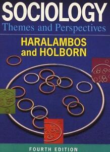 Sociology Themes and Perspectives By Michael Haralambos, Martin .9780003223163
