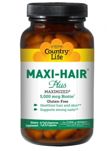 Maxi Hair Plus Country Life 120 VCaps