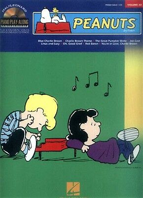 Peanuts Piano Play-Along Klavier Noten mit CD