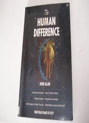 The Human Difference-John Allan