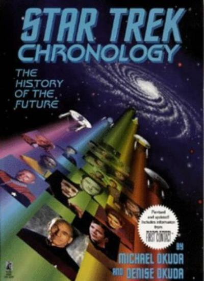Star Trek Chronology: The History of the Future,Michael Okuda, ,.9780671536107