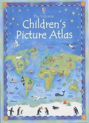 The Usborne Children's Picture Atlas By Ruth Brocklehurst, Linda Edwards