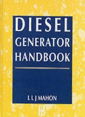 Diesel Generator Handbook by CDipAF  New 9780750611473 Fast Free Shipping.= for sale  Shipping to India