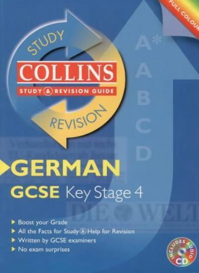 Collins Study and Revision Guides - GCSE German (Collins Study & Revision Guid,