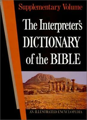 The Interpreter's Dictionary of the Bible: Suppt,Keith R. Crim