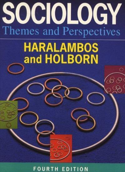 Sociology Themes and Perspectives,Michael Haralambos, Martin H ,.9780003223163