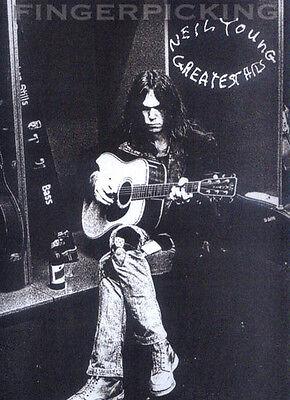 Fingerpicking Guitar ... Neil Young Greatest Gitarre Noten Tab