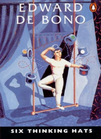 Six Thinking Hats,Edward De Bono- 9780140137842