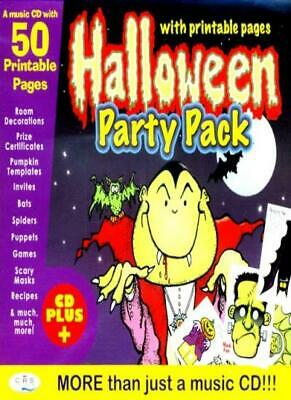 Halloween Party Pack (with printable pages) By CRS Players. ()