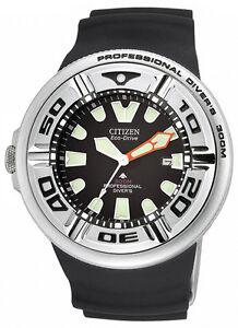 Citizen BJ8050-08E Mens Watch Eco-Drive Professional Diver 300M Strap