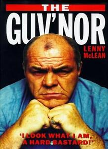 The Guv'nor By Lenny McLean, Peter Gerrard. 9781857823356