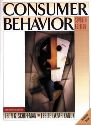 Consumer Behavior (Prentice Hall international editions),Leon Schiffman, Leslie