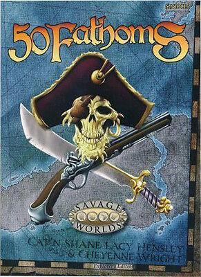 Savage Worlds 50 Fathoms Explorers Edition  24 99 Value Pinnacle Entertainment