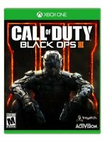 ÉCHANGE Call of duty black ops 3 xbox one