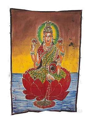 Batik Divinity Lakshmi Fortune 115x 74cm Crafts India Peterandclo 2193