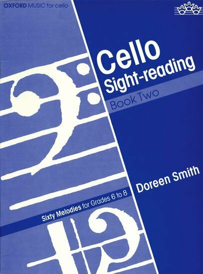 Cello Sight-Reading Book 2, Paperback- Cello tutor, OUP Oxford - 9780193850057